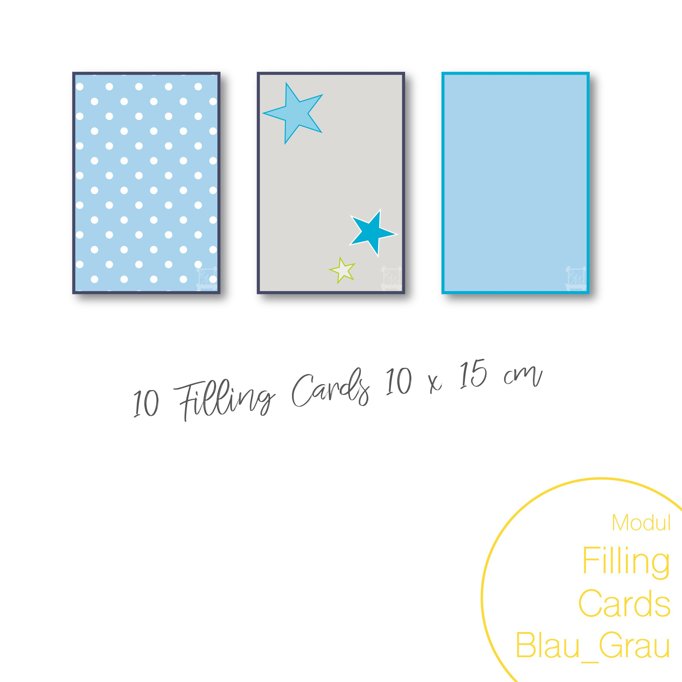 Dein Remember-Me Modul Filling-Cards Gross Blau_Grau