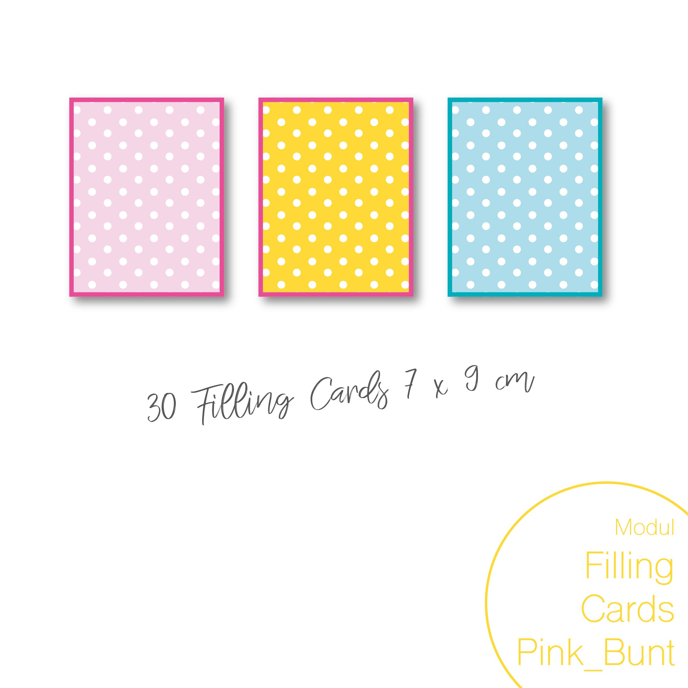 Dein Remember-Me Modul Filling-Cards Klein Pink_Bunt